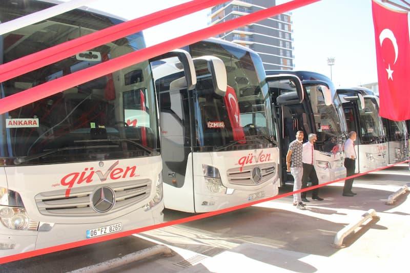 Çağdaş Güven Turizm hizmete girdi - Doğrusöz Gazetesi