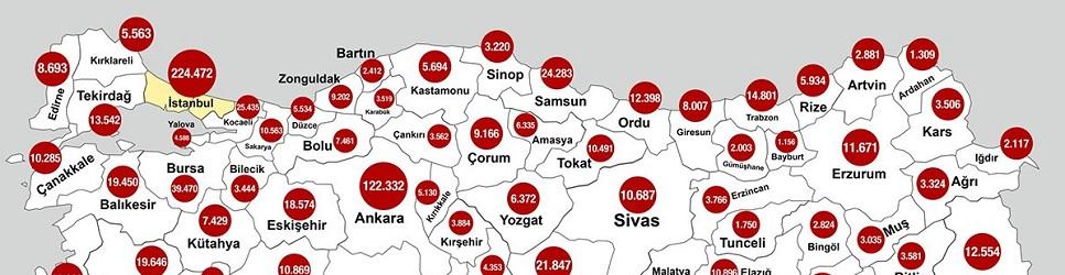 Kastamonu'da 5 bin 694 kişi aşılandı
