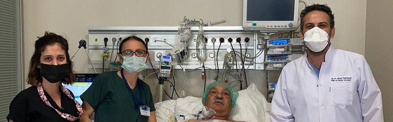KEAH'ta başarılı 'açık bypass' ameliyatı