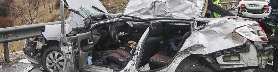 Kaza azaldı, ölüm aynı