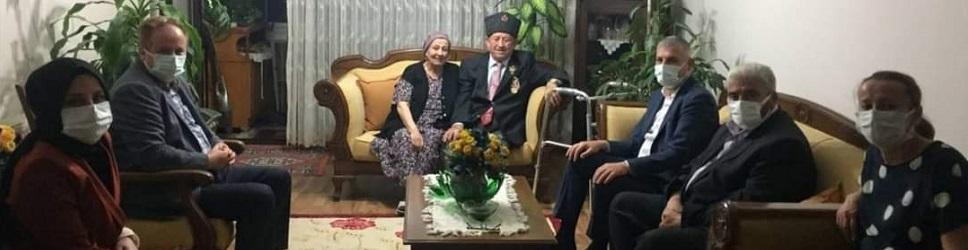 AK Parti'den Gazi Erdem'e ziyaret