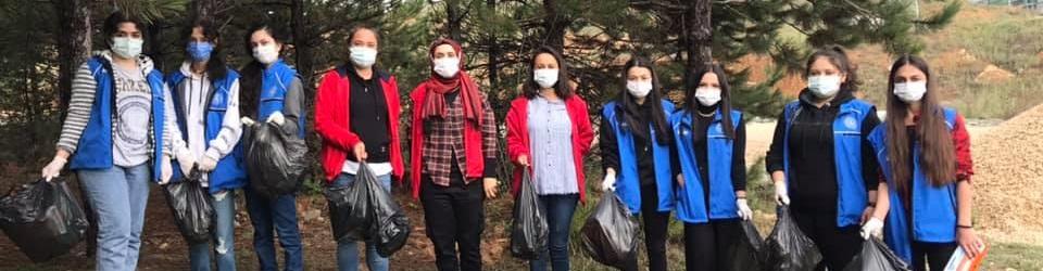 Gençlik Merkezleri daha temiz bir dünya için bugün sahada